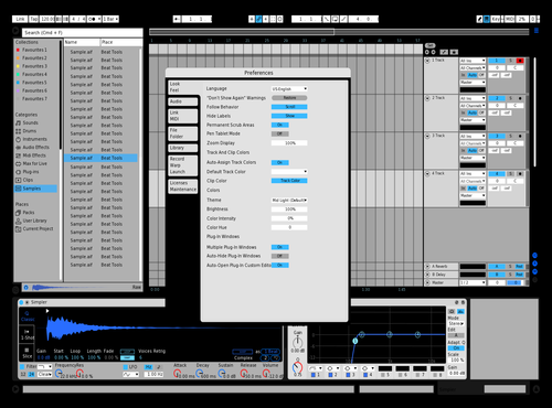 Try Theme for Ableton 10 by Aaron