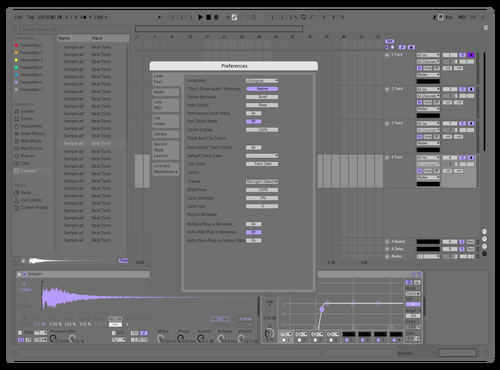 Neutral cool Theme for Ableton 10 by kristo