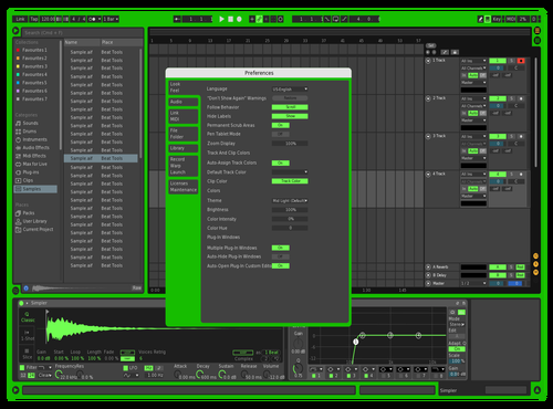 Aira Theme for Ableton 10 by MIKE