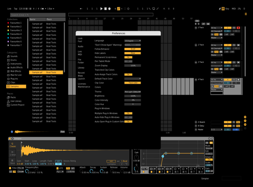 JustLive Theme for Ableton 10 by agustin ibarrola