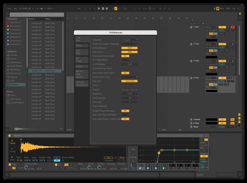 In Making Theme for Ableton 10 by roxy