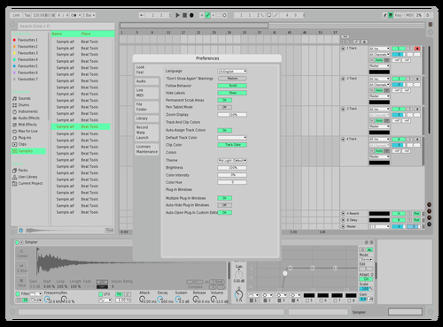 Atromint Theme for Ableton 10 by D