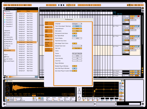 Ergonomic Theme Theme for Ableton 10 by Ruben Bekkevold