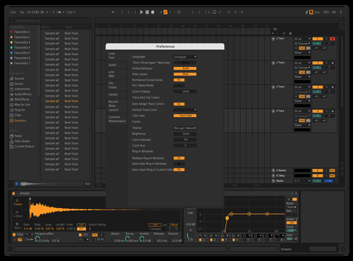 Duvivier theme Theme for Ableton 10 by Duvivier