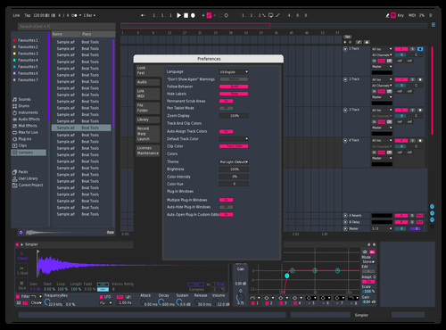 Zipper Theme for Ableton 10 by slam
