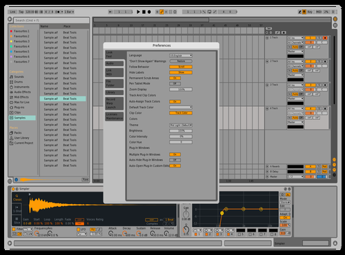 9Modified Theme for Ableton 10 by david