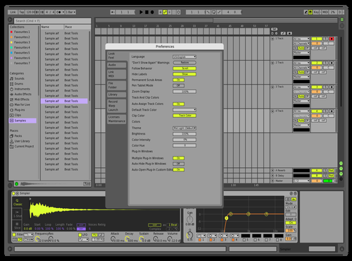 Prodreams002 Theme for Ableton 10 by Anuj