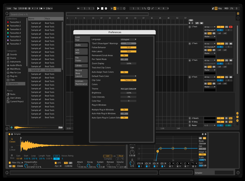 Ableton Default Darker Theme for Ableton 10 by Heady1969