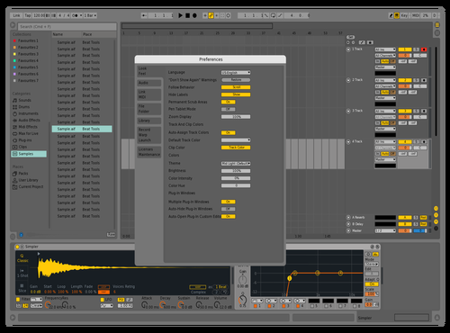 Live9d Theme for Ableton 10 by Nauj