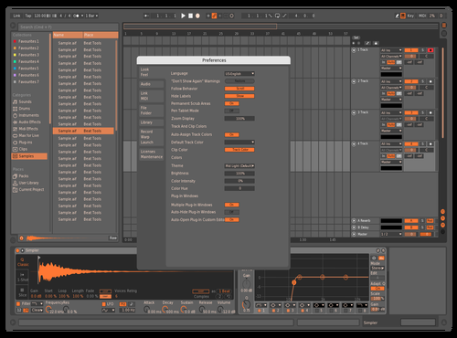 H24 - D3 Theme for Ableton 10 by H24mv