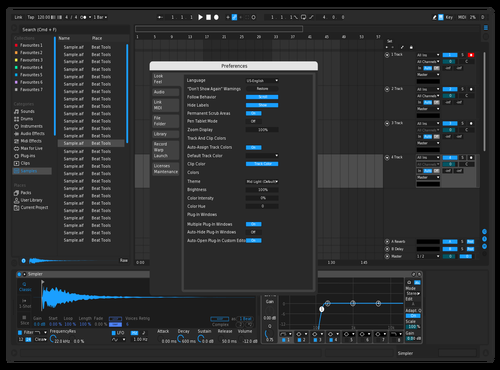 ADOSA DARK THEME Theme for Ableton 10 by Robert Passtoors