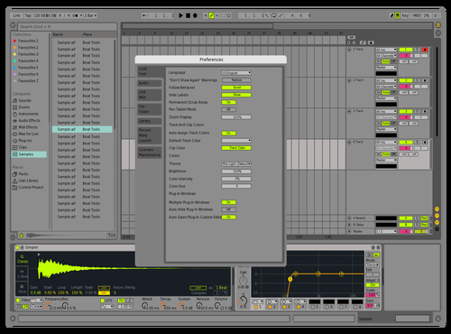 Basic live Theme for Ableton 10 by Aidan