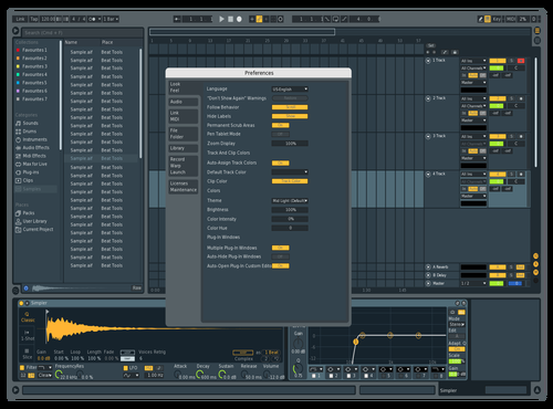 FL Studio Theme for Ableton 10 by Kaijo