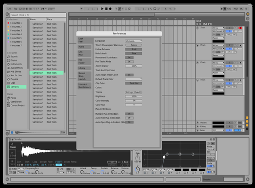 Johan Light Theme_1.0 Theme for Ableton 10 by Johan
