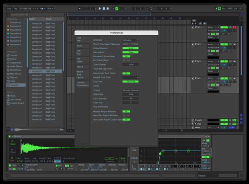 Teal V1 Theme for Ableton 10 by MGII