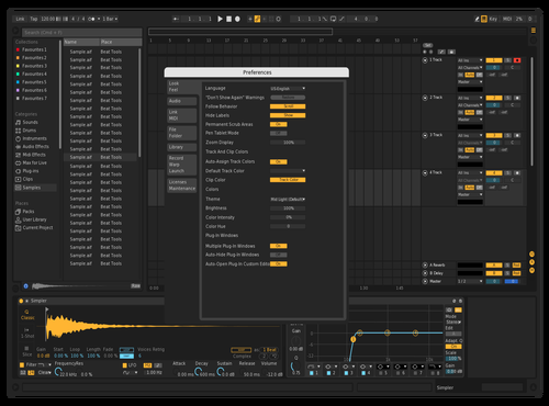 Hi-Dark Theme for Ableton 10 by R
