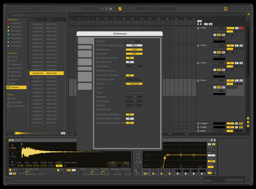 YELLOUU Theme for Ableton 10 by david