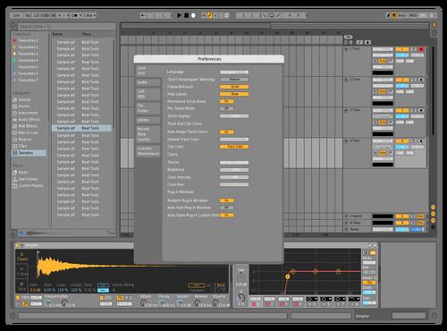 K Theme for Ableton 10 by BLACKOUT X