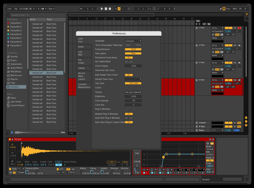 Skin perso 2 Theme for Ableton 10 by Julien