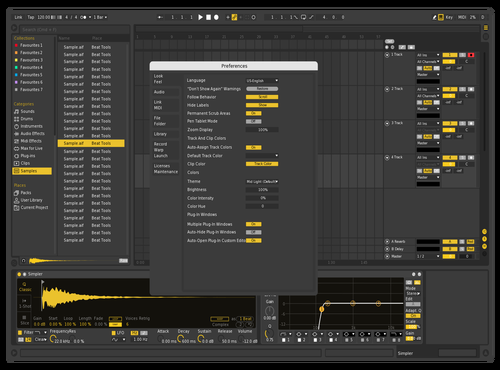 YelloMix Theme for Ableton 10 by Jorge Garcia