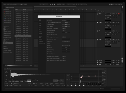 @relsson Theme for Ableton 10 by rlsn