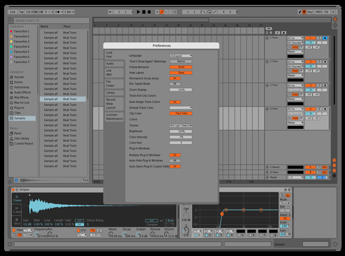 Mid obs Theme for Ableton 10 by Reaver