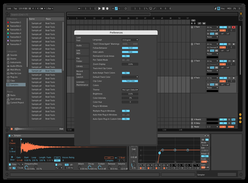 Third Theme for Ableton 10 by Srecko