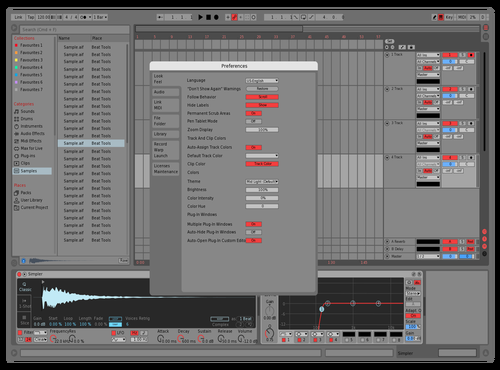 RDdefault Theme for Ableton 10 by david