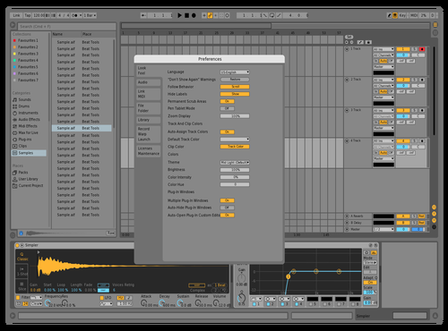 Mid Light - Sharpened Theme for Ableton 10 by x39