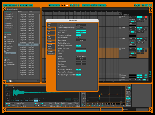 CamelShrimp318 Theme for Ableton 10 by Cameron Thomas