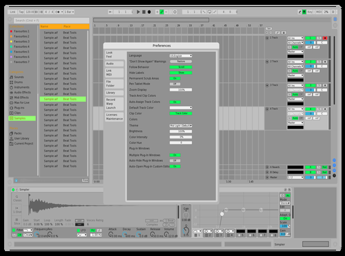 Bright Dark Theme for Ableton 10 by JAMES HARDY-MARTIN III
