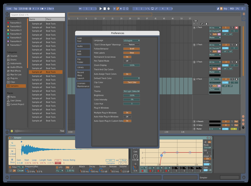 Retro ReMux Theme for Ableton 10 by MOSchops