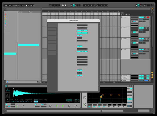 Invisible Theme for Ableton 10 by CMND Z