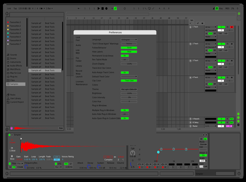 Nutass Theme for Ableton 10 by Ho