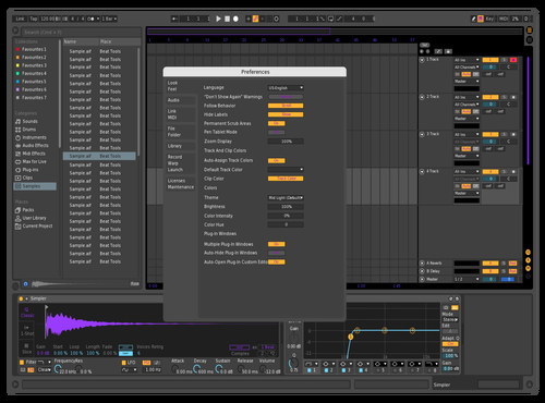 BLACKOUT X Theme for Ableton 10 by BLACKOUT X
