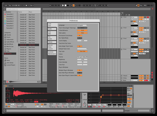 MRED1 - Darker Theme for Ableton 10 by Almy