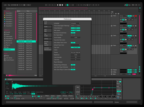 MIKUMIKUCOLOR Theme for Ableton 10 by picco