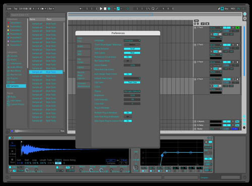 Custom 01 Theme for Ableton 10 by Nick