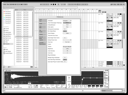 Very Light V2 Theme for Ableton 10 by Dai