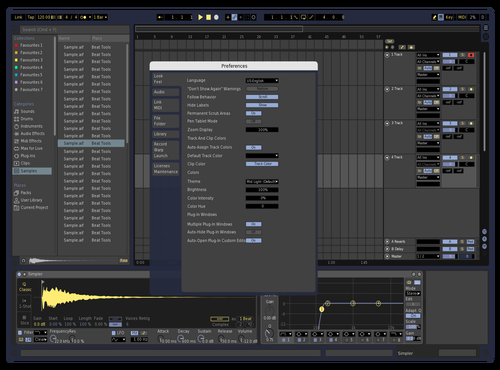 DarkGreyBlue Theme for Ableton 10 by kev
