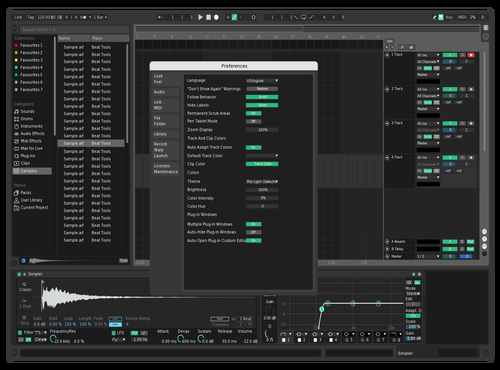 Wave white Theme for Ableton 10 by theo