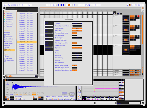CAM !LL !TA !! Theme for Ableton 10 by Fletcher Hendrickson