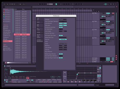 Azure Theme for Ableton 10 by ESAI