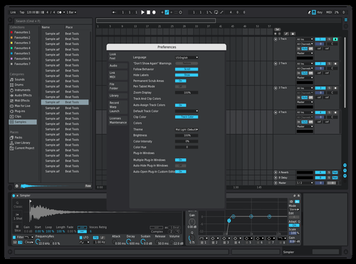 Nova type Theme for Ableton 10 by Reaver