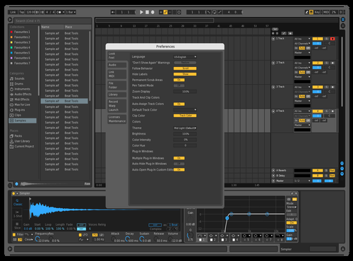 Sybe Theme Theme for Ableton 10 by sybesybe