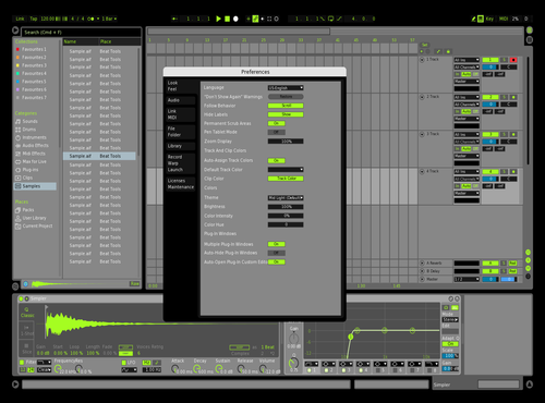 Viper Theme for Ableton 10 by david
