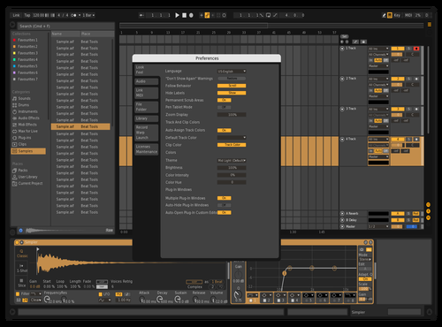 Bob Theme for Ableton 10 by skinneeE