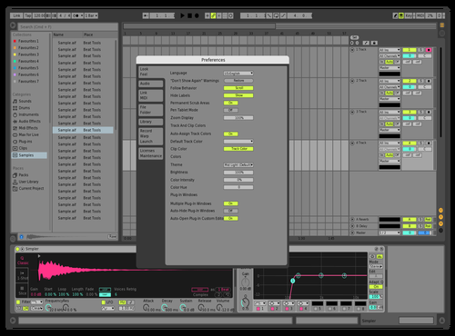 Bright Theme for Ableton 10 by pepepe
