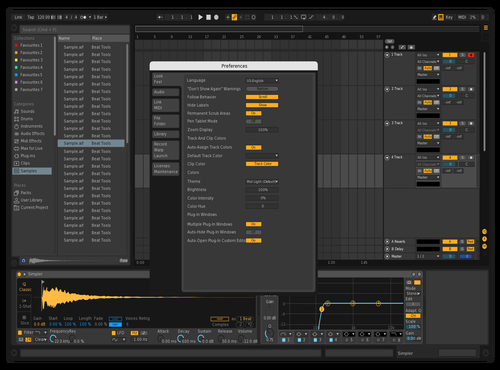 DungeonComposer Theme for Ableton 10 by Vladislav Bawkatov