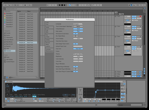 Default Blue - Jake Theme for Ableton 10 by Jake